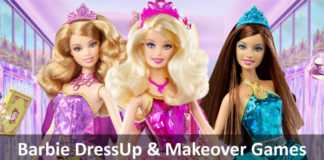 Barbie Dress Up Games Makeover Games