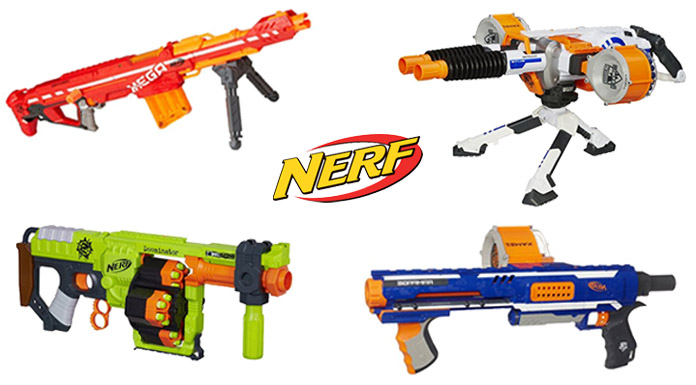 Best NERF Machine Guns for Toddlers & Kids