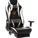 Ficmax Massage Gaming Chair Reclining Racing Office Chair Ergonomic Gamer Chair